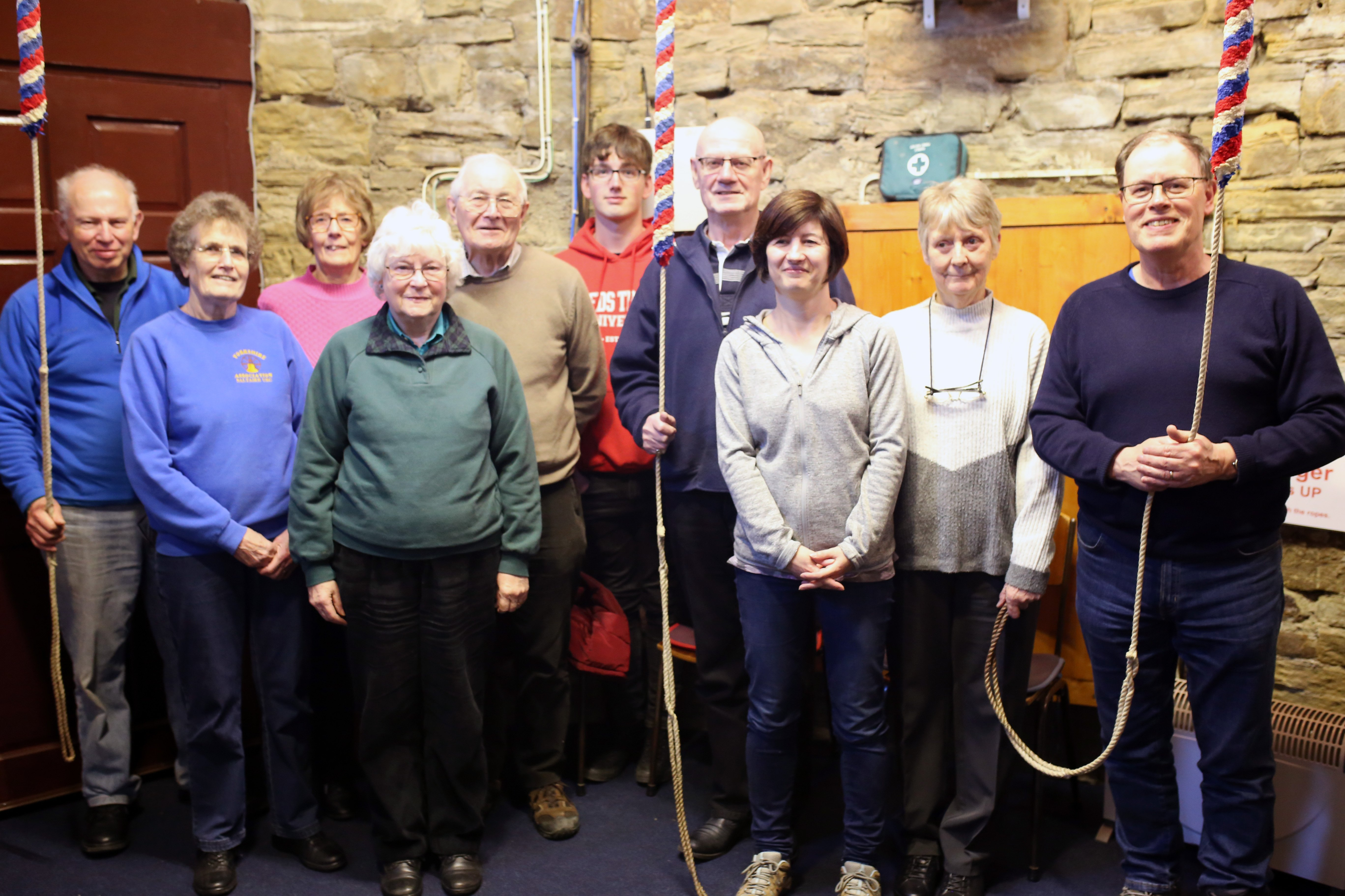 The Bellringers at Saltaire